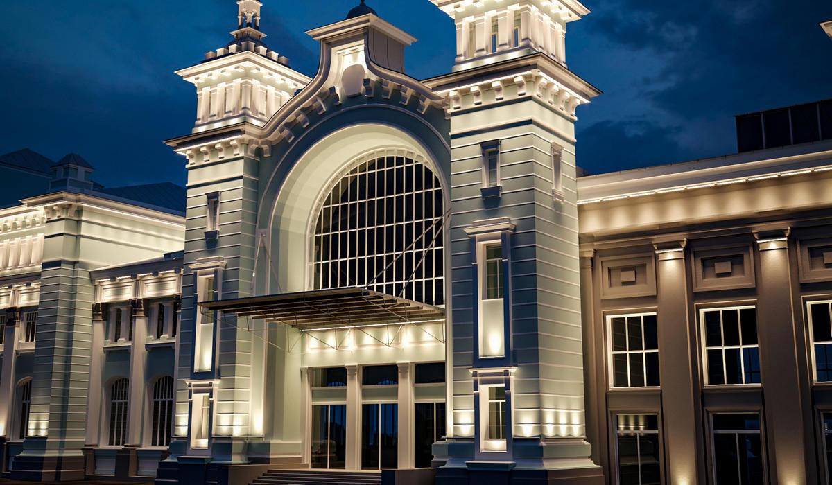 LANE FACADE OPTIC is a series of narrow-beam facade floodlights