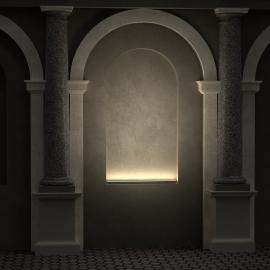 LANE FACADE BASE linear architectural LED lamps for illumination of facades