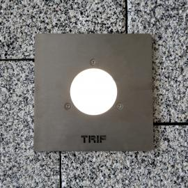 Paving lamps protected from vandalism